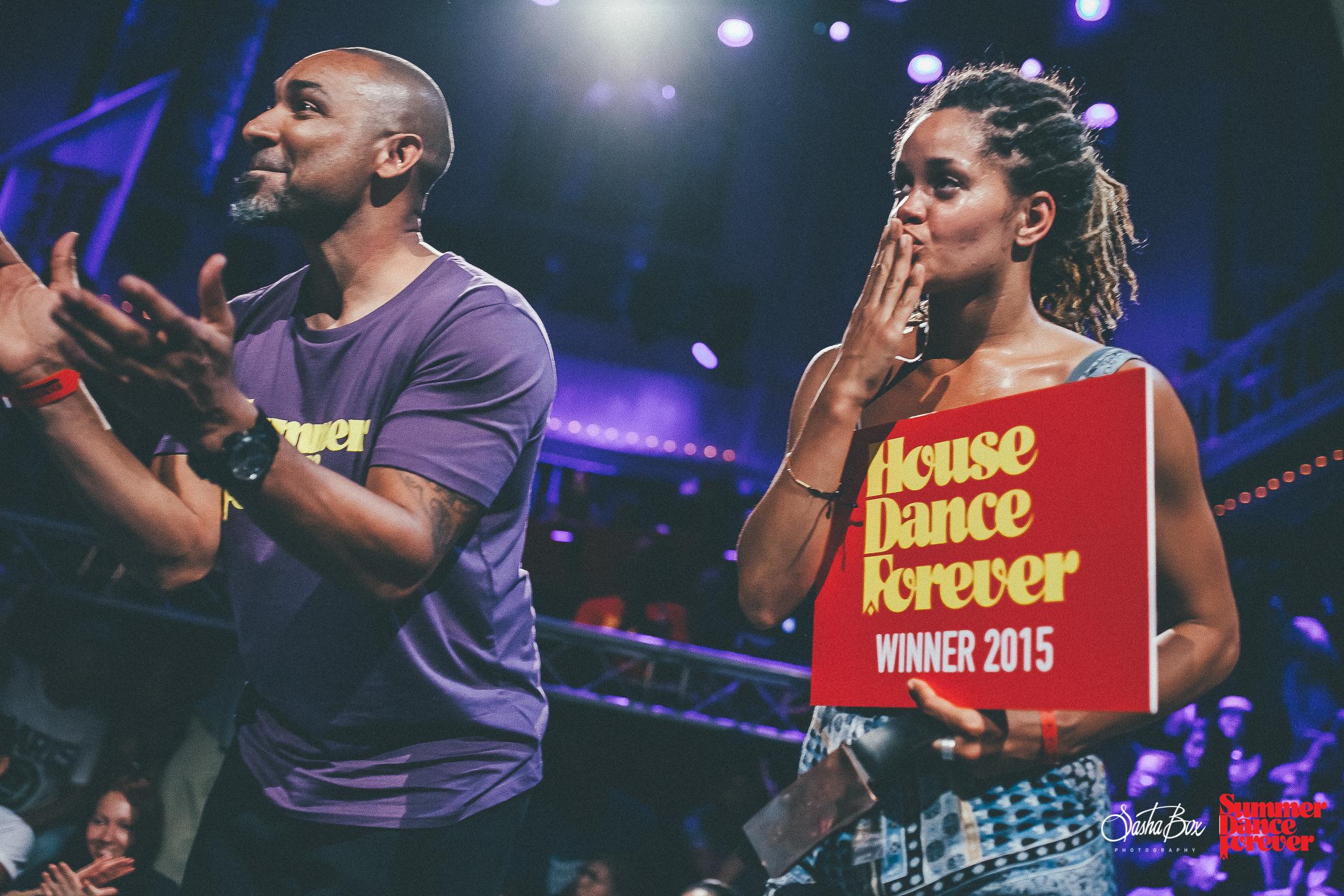 Marie Kaae winner House Dance Forever 2015