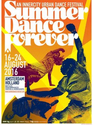 SUMMER DANCE FOREVER poster DEF 2016 A2
