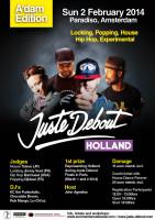 Juste Debout Holland 2014