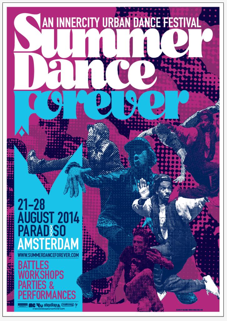 Poster Summer Dance Forever 2014 v1