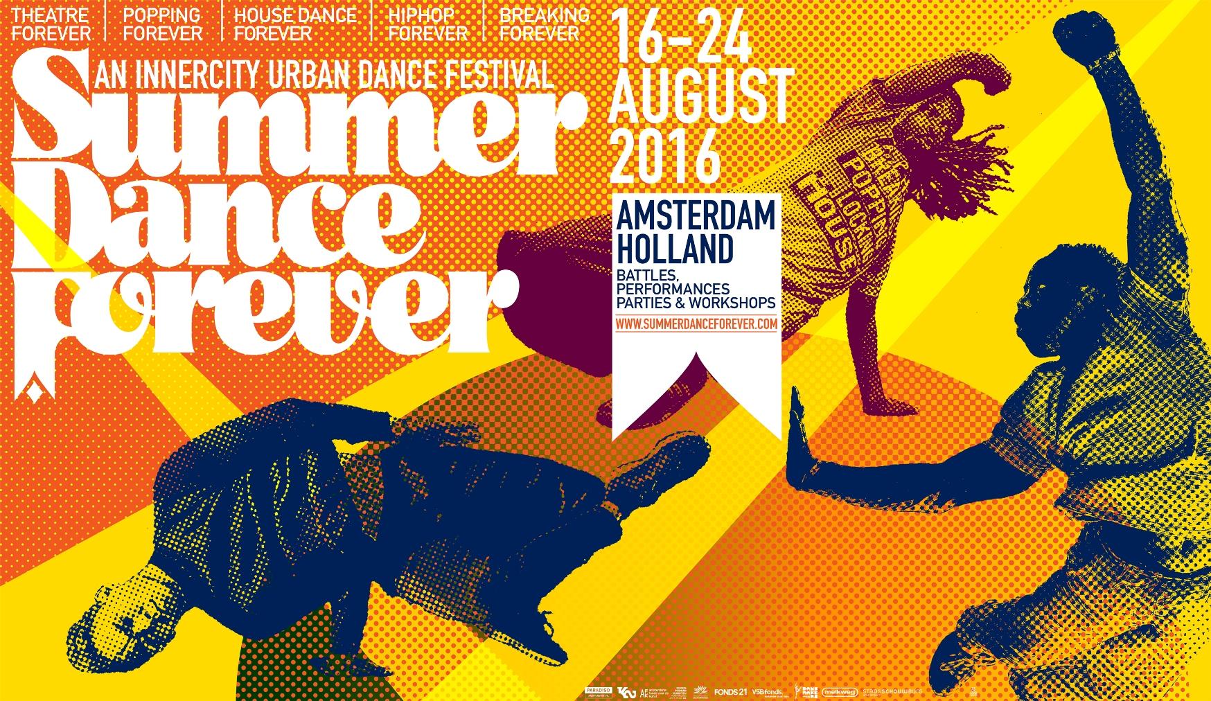 Programme & tickets Summer Dance Forever 2016