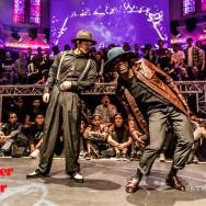Chi & Roche - Funkadelic Brothers - Juste Debout Holland 2016 (Bob Karman Fotografie)