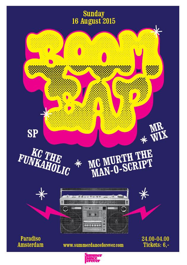 Boom Bap – Sunday 16 August