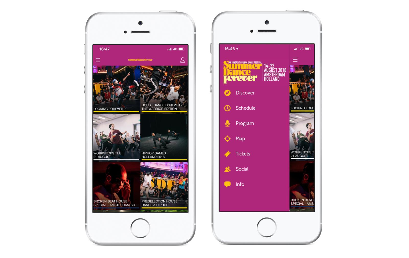 Download the Summer Dance Forever 2018 app