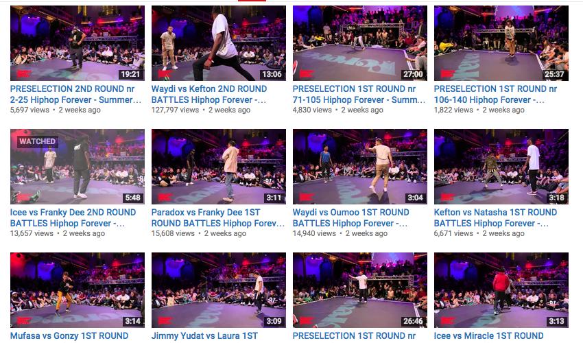 All #SDF5 videos online