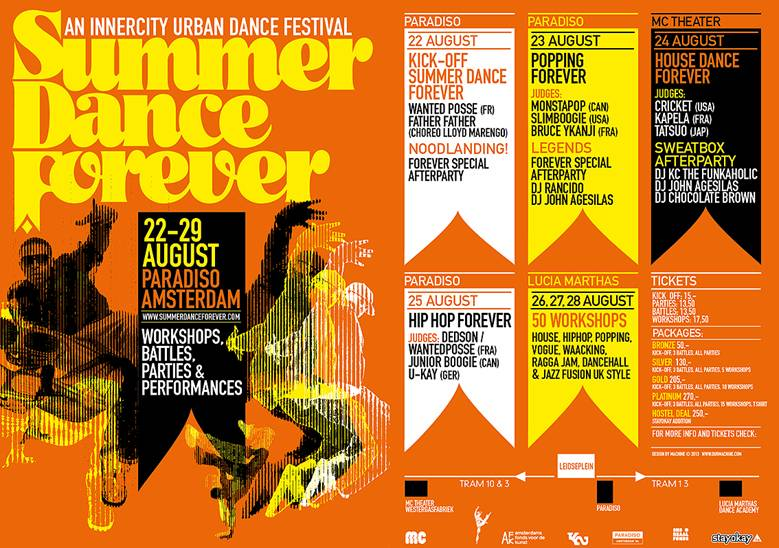 Summer Dance Forever is coming!
