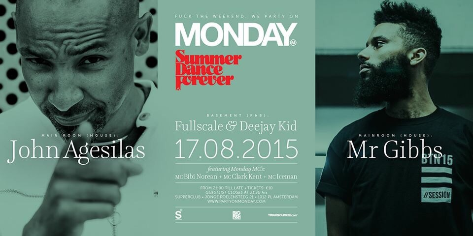 Extra party on Monday!