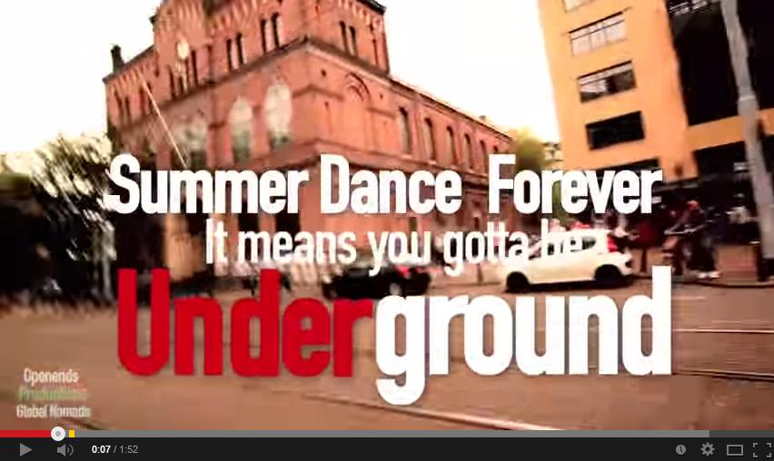 We bring you the underground!