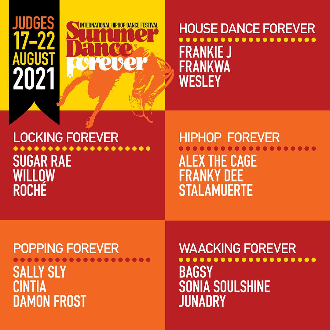 judges summer dance forever 2021